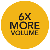 6X Volume of the average real estate agent