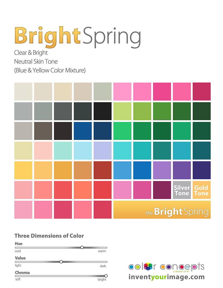 women bright spring