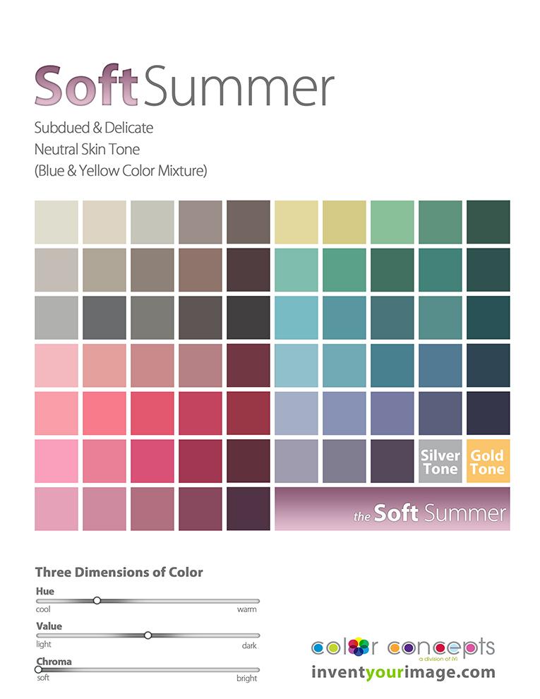 women soft summer
