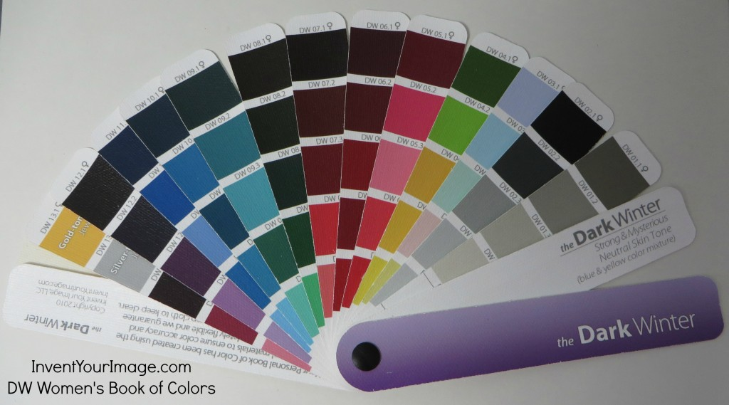 DW Invent Your Image Womens Book of Colors
