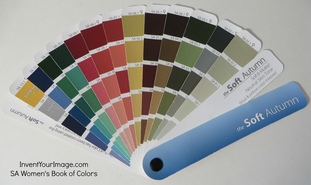 SA InventYour Image Womens Book of Colors