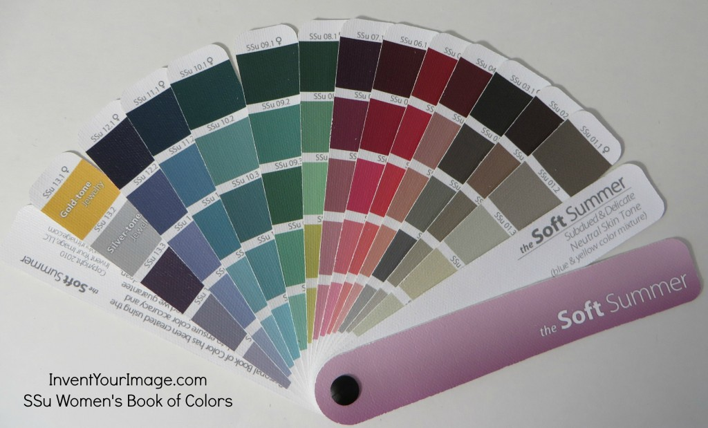 SSu Invent Your Image Womens Book of Colors