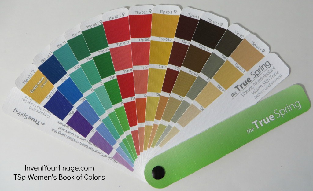 TSp Invent Your Image Womens Book of Colors