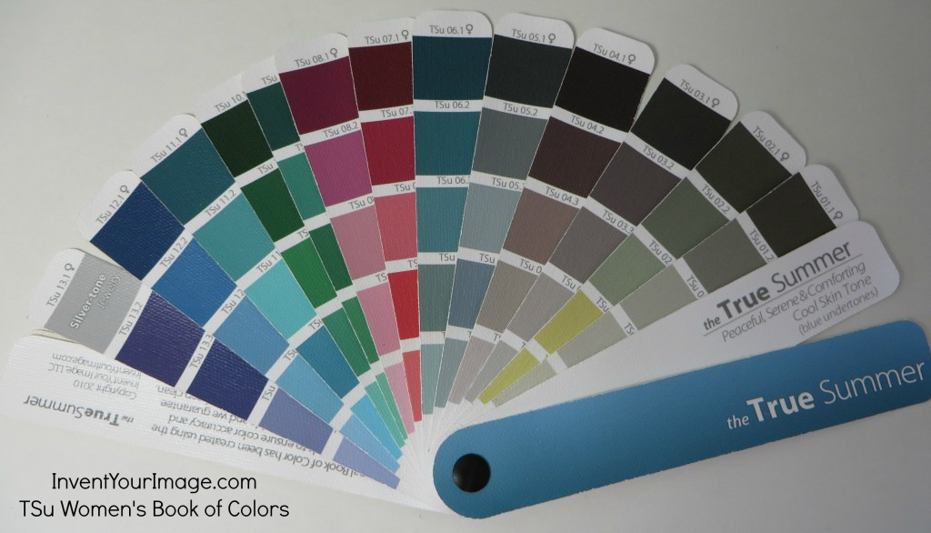 TSu Invent Your Image Womens Book of Colors