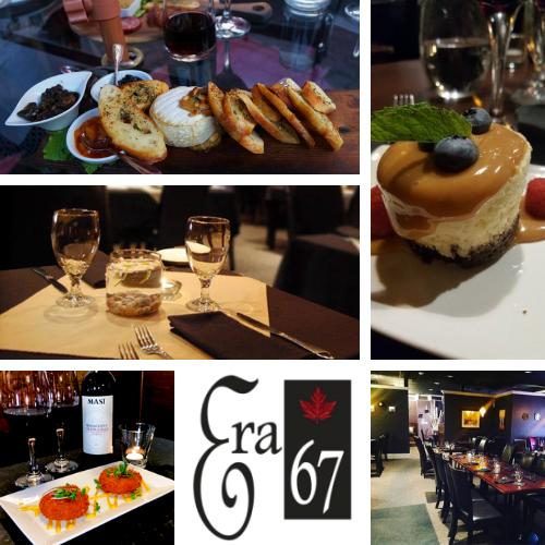 Era 67 Restaurant   Logo, Food, Drinks and Interior