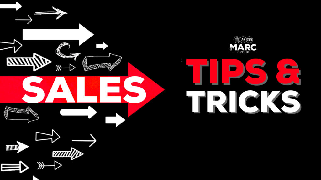 Sales Tips & Tricks
