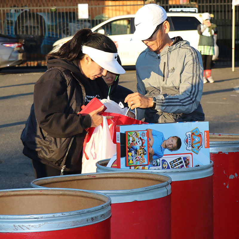 donating toys