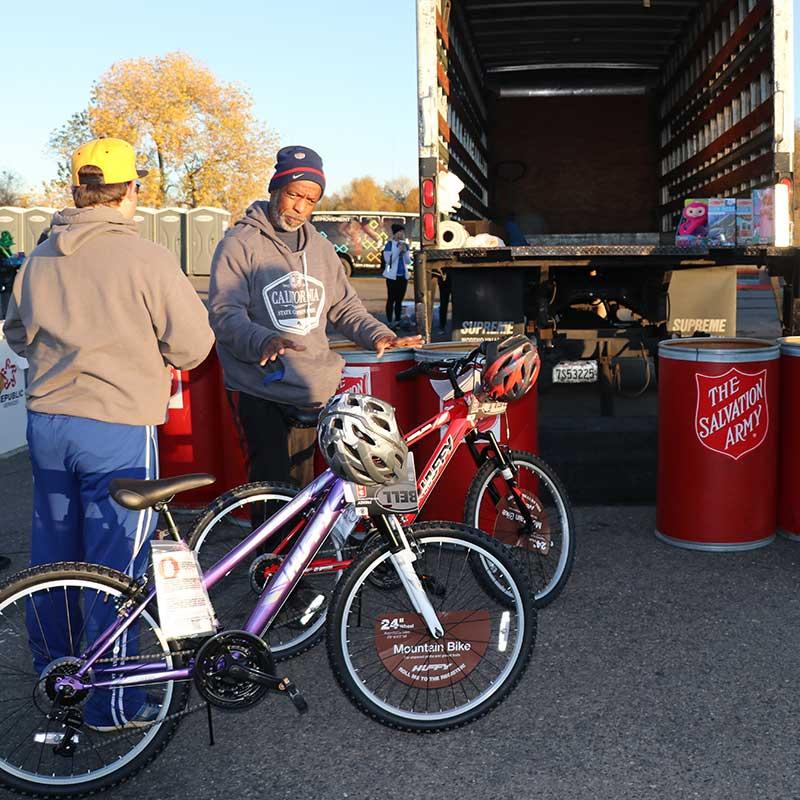 donating bikes