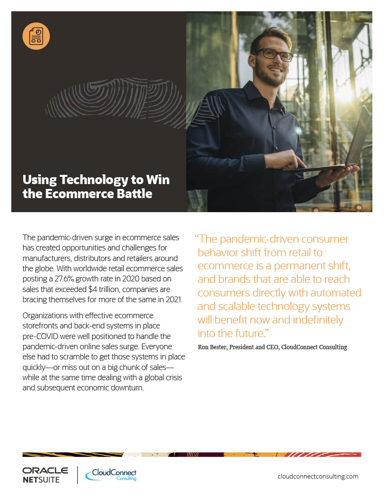 Using Technology to Win the Ecommerce Battle