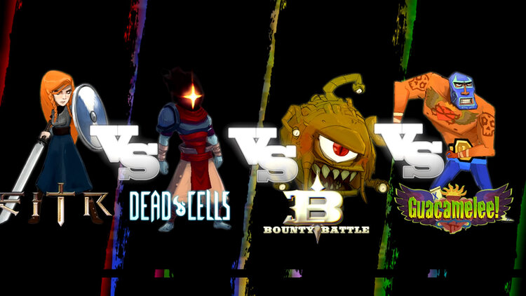 New Platform Fighter Bounty Battle Features Your Favorite Indie Characters