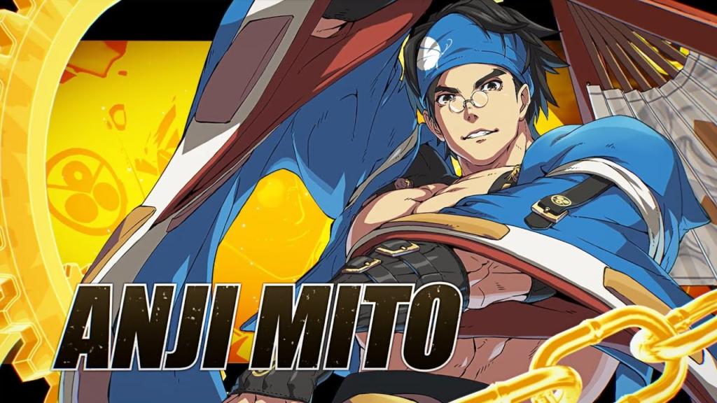 Anji Mito Glides Into Guilty Gear Strive