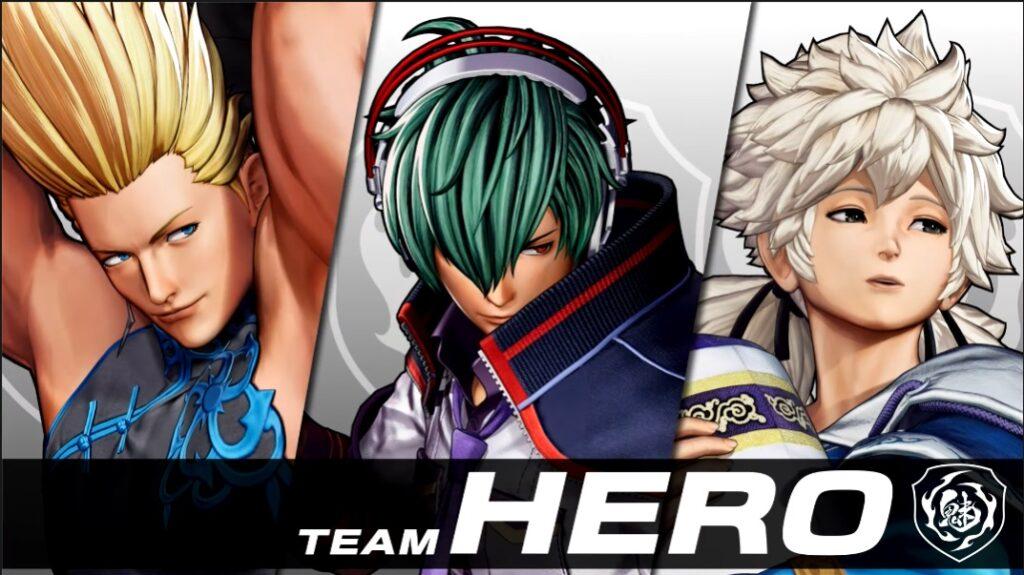 King Of Fighters XV Reveals Team Hero