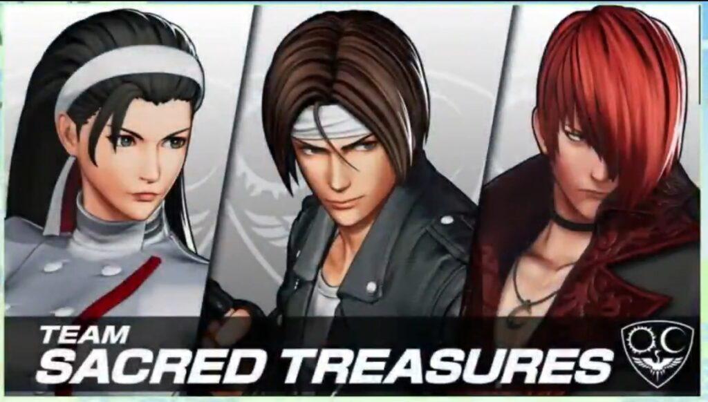 KOFXV Shows Off Team Sacred Treasures Trailer