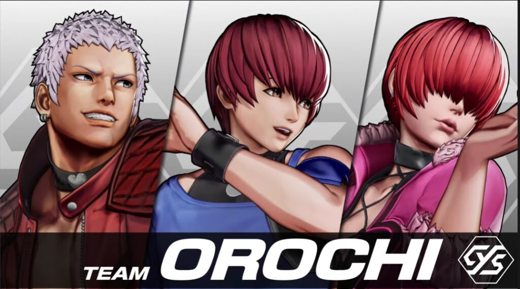 Chris Joins Team Orochi In King of Fighters XV