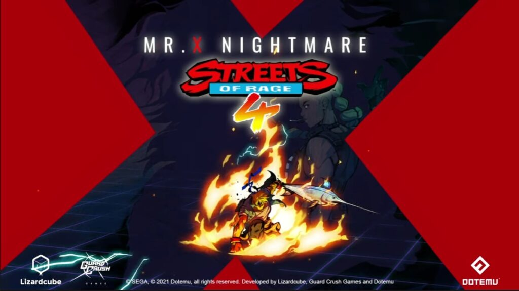 DotEmu Reveals Mr. X Nightmare DLC for Streets of Rage 4