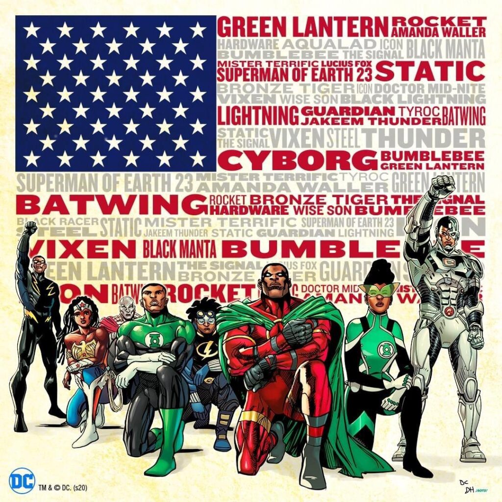 DC Comics Honors #Juneteenth Amplifying Black Superhero Stories