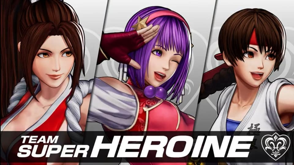 Athena Asamiya Joins Team Superheroines in #KOFXV