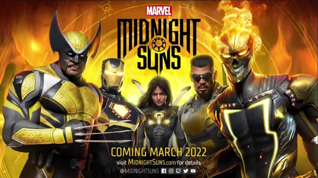 #GamesCom2021: Marvel's Midnight Suns Revealed for March 2022
