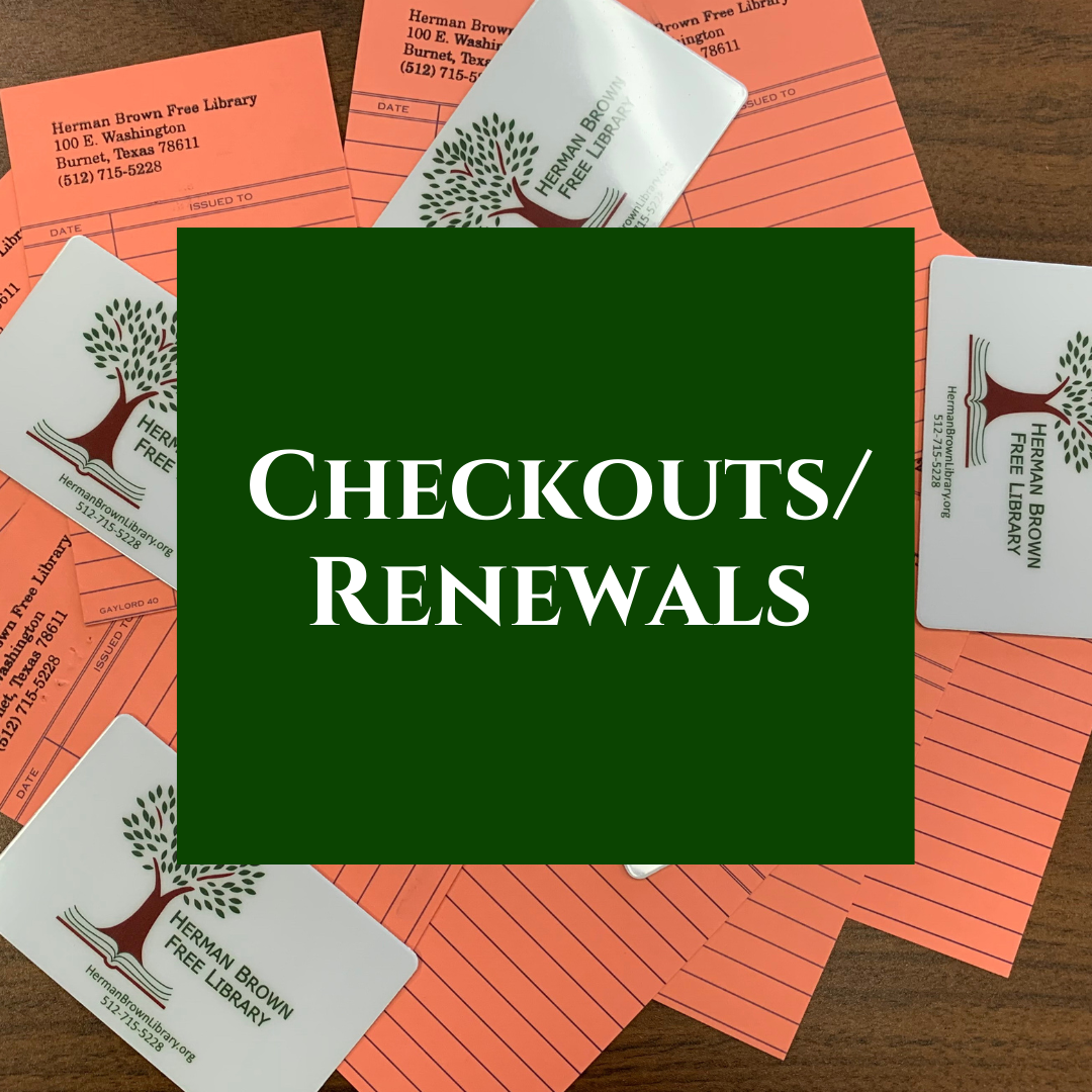 View/renew items checked out.