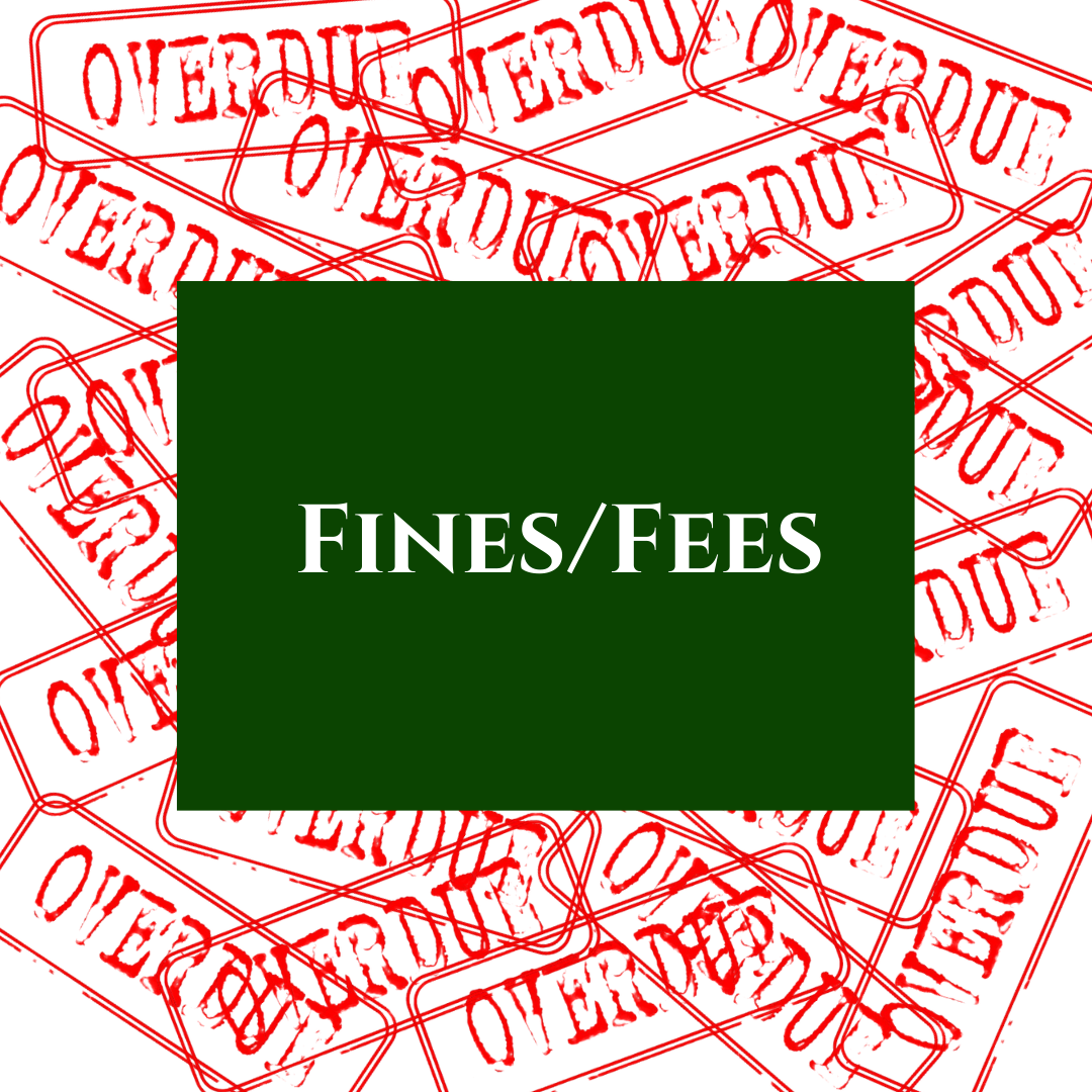 View all accrued fines and fees.