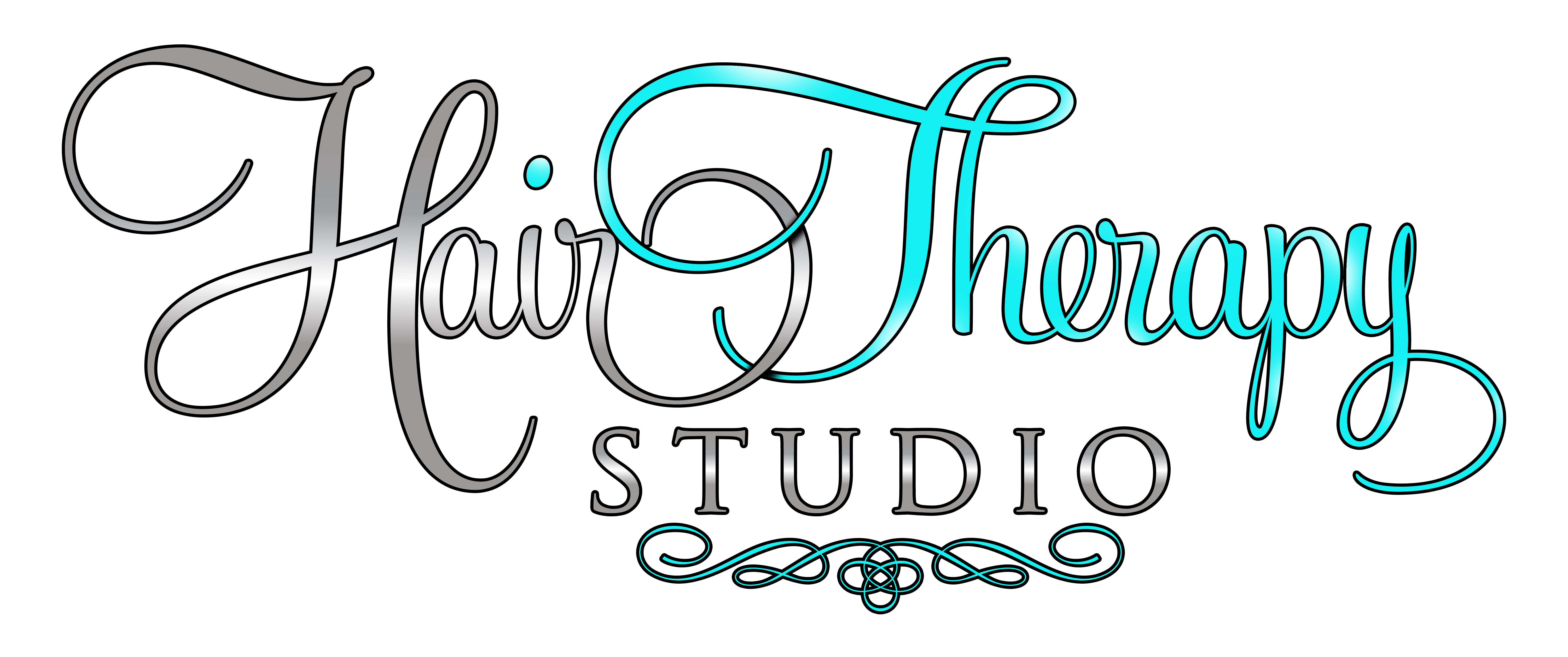 Hair Therapy Studio on transparent background