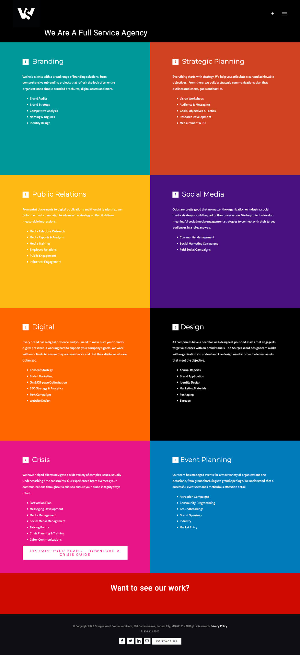 Website Development - Sturges Word Services
