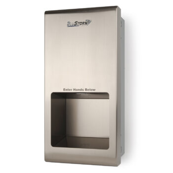 HD0955 – BluStorm®2 Recessed High Speed Hand Dryer