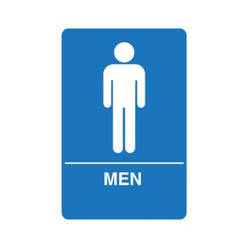 IS1001 – Men's ADA Restroom Sign