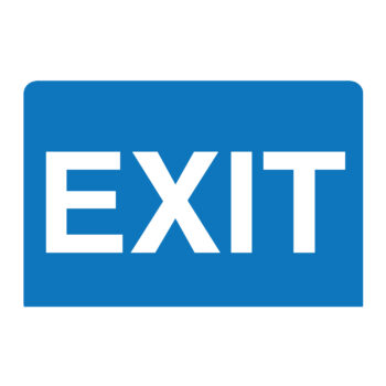 IS1011 – EXIT Sign