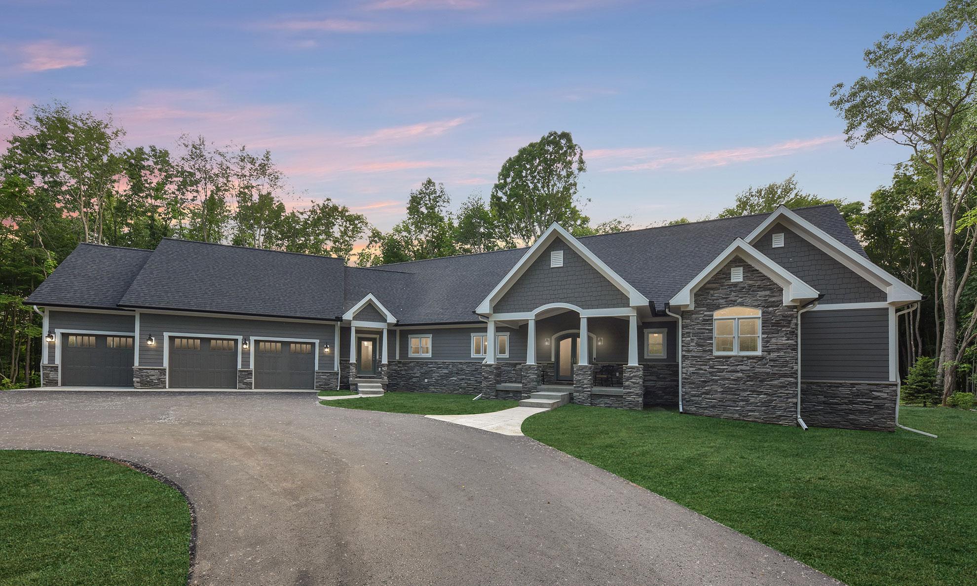 Greystone Building Company - Multi-Generational - Front Yard
