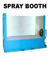 ADF Systems, Inc. SPRAY BOOTH parts washer