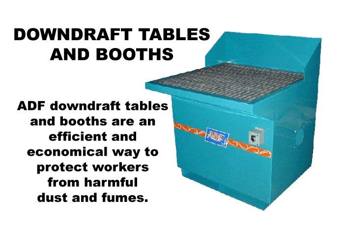 Downdraft Tables