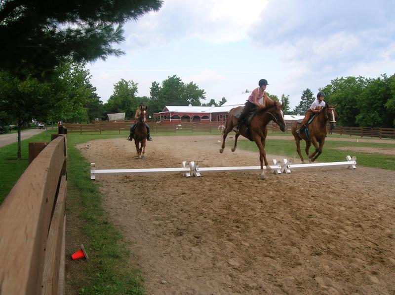 Riding, Jumping
