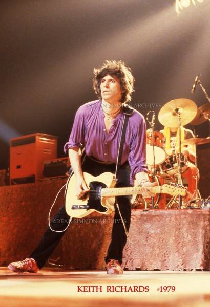 KEITH RICHARDS #1409-M79