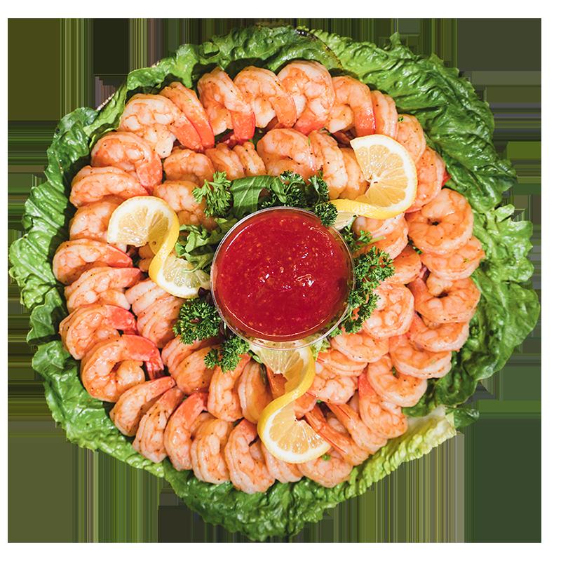 Boyars Shrimp Tray