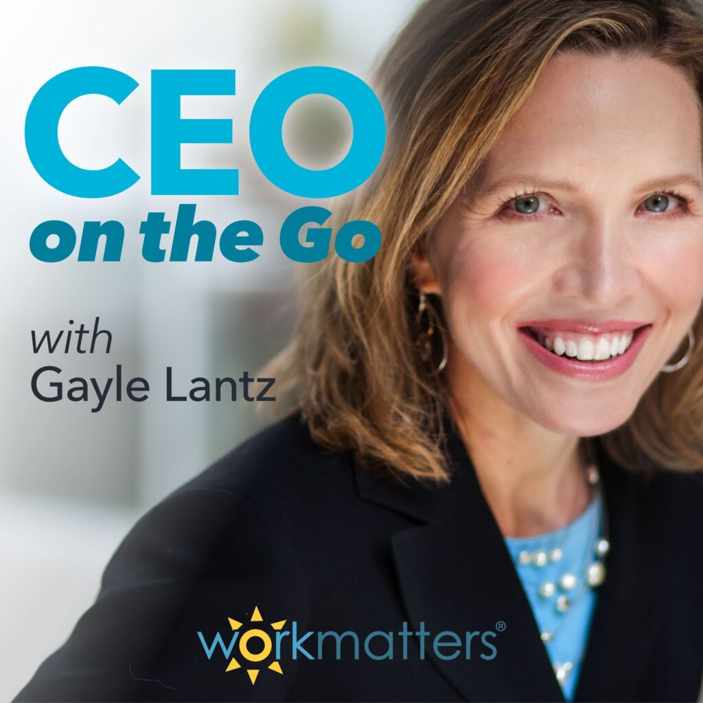 CEO on the Go Podcast Art