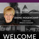 We Proudly Welcome Diane Hogencamp