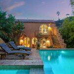 Classic Mediterranean-Style Villa is Tucked Away Under Griffith Observatory