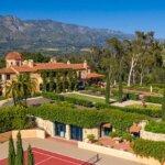 Montecito Villa on Promontory Captures Rare 360-Degree Bird's-Eye Views