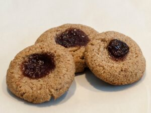 Recipe for jam-dot-cookie