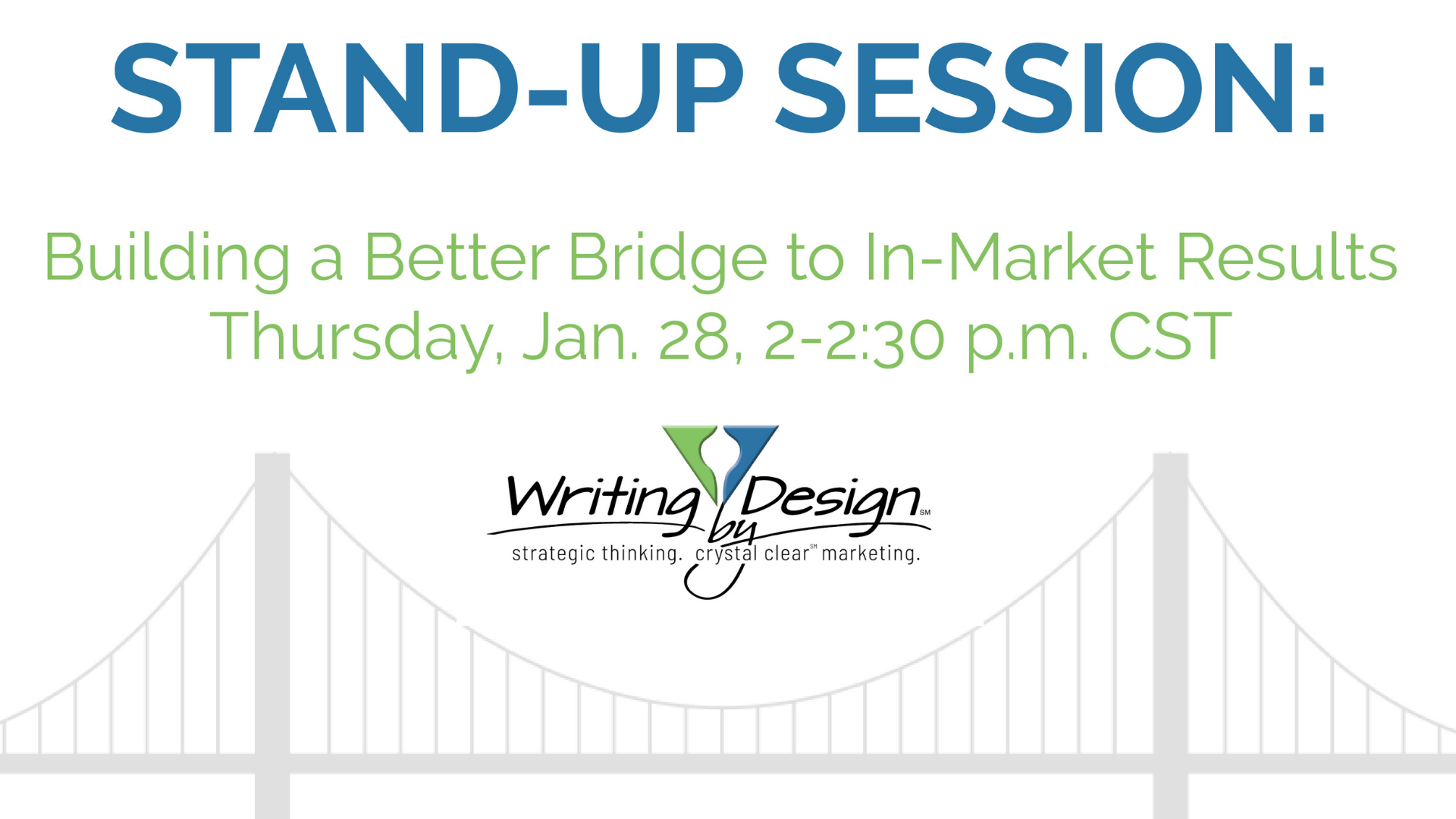 Build a Better Bridge to In-Market Results for your New Product Launch