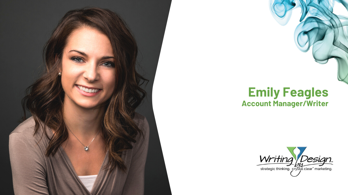 Emily Feagles Joins Writing by Design Team
