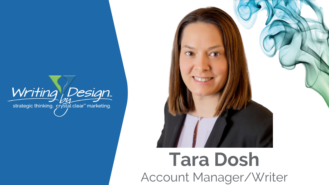 Tara Dosh Joins the Writing by Design Team