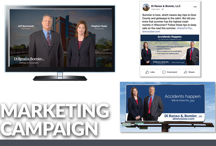 Example of an Integrated Marketing Campaign for a local law firm