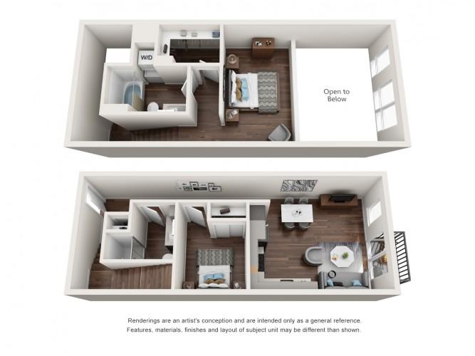 Bogtown Flats_2x2 Loft_Combined