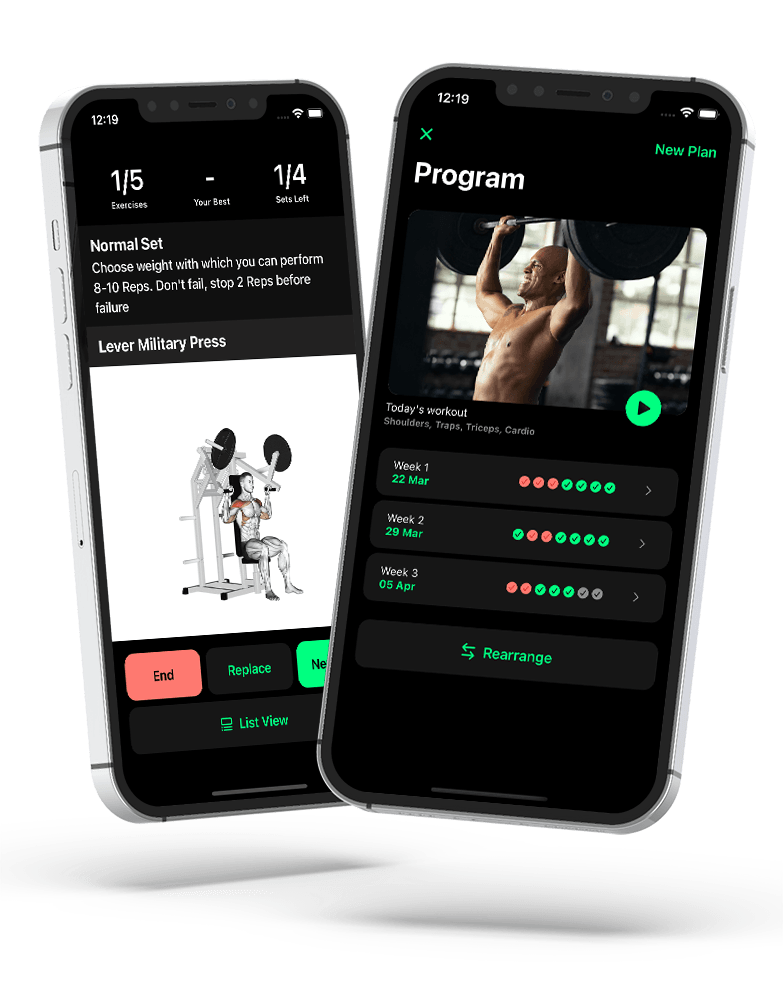 Flex workout iphone and android app