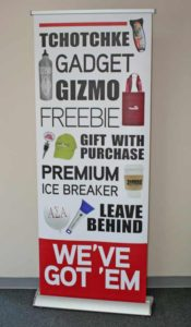 Trade show graphics by Dynamark Printing Indianapolis Indiana