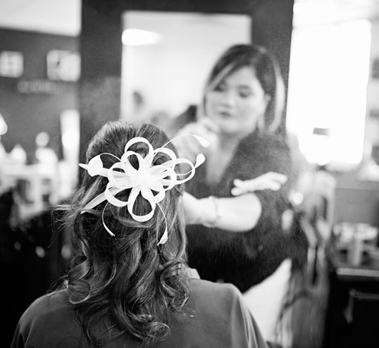 bridal updo classic hairstyle