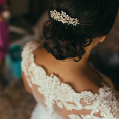 classy wedding up do stylists Port Clinton