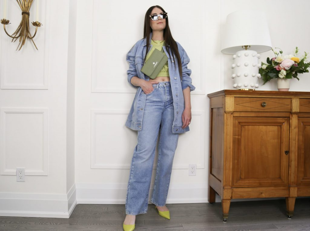 how to wear denim this summer
